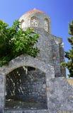 Bysantinsk kyrka Fotografering för Bildbyråer