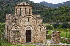 Bysantinsk kyrka av Panagia Arkivbild