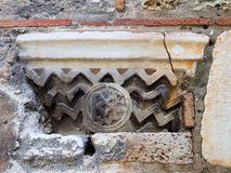 Bysantinskt motiv Arkivfoto