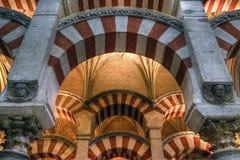 Bysantinskt på morisk design Arkivfoton