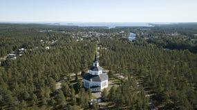 Byske-kyrka Stockfoto
