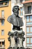 Byst av Benvenuto Cellini Arkivfoton