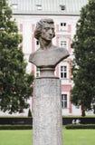 Byst av den stora kompositören Frederic Chopin Arkivbilder