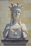 Byst av drottningen Marie av Rumänien arkivfoton
