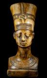 Byst av drottningen Nefertiti royaltyfri foto