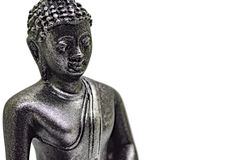 Byst av lite buddha royaltyfria foton