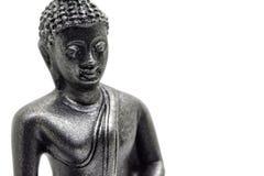 Byst av lite buddha arkivbild