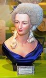 Byst av Marie Antoinette arkivbild