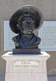 Byst av Pancho Villa Royaltyfri Foto