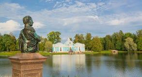 Byst av storslagna Duke Nikolai Aleksandrovich Romanov royaltyfri foto
