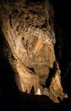 Bystrianska cave, Slovakia Royalty Free Stock Photo