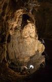 Bystrianska cave, Slovakia Stock Photo