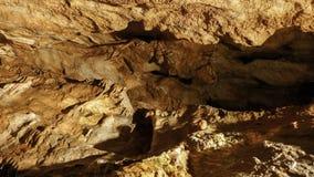 Bystrianska cave, Slovakia Royalty Free Stock Photography
