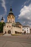 Bystrica van Banska Stock Afbeelding