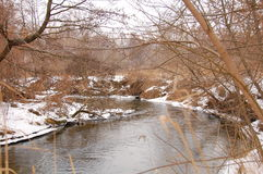 Bystrzyca River view Stock Photo