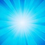 błyszczący słońce wektor Obraz Royalty Free
