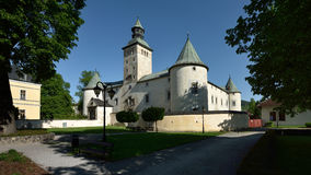 Bytca Castle, Σλοβακία στοκ φωτογραφία με δικαίωμα ελεύθερης χρήσης