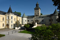 Bytca Castle, Σλοβακία στοκ εικόνα με δικαίωμα ελεύθερης χρήσης