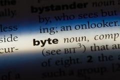 byte stockbild