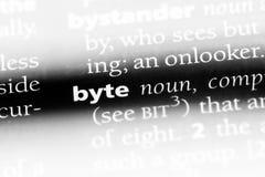 byte stockfotos