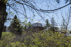 Byurakan observatory Royalty Free Stock Images