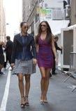 Bywalec ulicy styl w Nowy Jork fotografia royalty free
