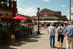 Byward Market Ottawa Canada Stock Photo