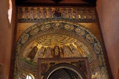 Byzantijns mozaïek stock foto's