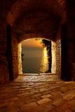 Byzantijnse deur Royalty-vrije Stock Afbeeldingen