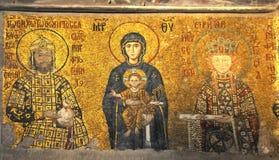 Byzantijnse mozaïeken Royalty-vrije Stock Foto's