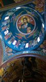 Byzantine architecture ceiling. When anyone put effort and love into art they will achieve greatness Royalty Free Stock Photography