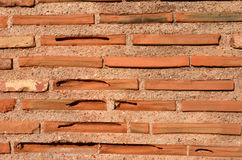 Byzantine bricks Stock Photography
