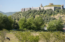The Byzantine castle of Ayasuluk,Selcuk,Turkey Royalty Free Stock Photography
