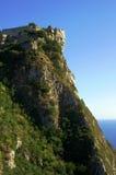 Byzantine castle on Corfu island Royalty Free Stock Images