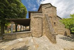 The byzantine church in Edessa Stock Photography