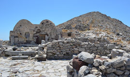 Byzantine Chapel Ancient Thira Royalty Free Stock Photo