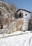 Byzantine church of Ayios Nikolaos in Kastoria, Greece Stock Photo