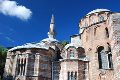 Byzantine church - Chora Church - Istanbul. Byzantine church Chora Church (Kariye Camii ) - Istanbul - Turkey royalty free stock photos