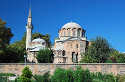Byzantine church - Chora Church - Istanbul Royalty Free Stock Image