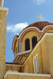 Byzantine church in cyprus island Stock Image