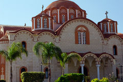 Byzantine church in cyprus island Royalty Free Stock Photography