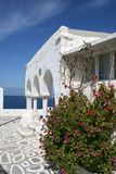 Byzantine church detail - Paros Island, Greece Stock Images
