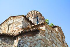 Byzantine church Stock Photo