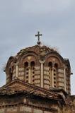 Byzantine church dome Stock Photo