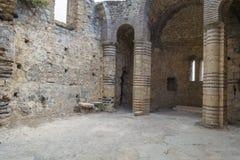 Byzantine church inside Kyrenia castle. royalty free stock photos