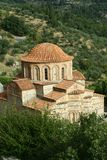 Byzantine church in Mystra Stock Images