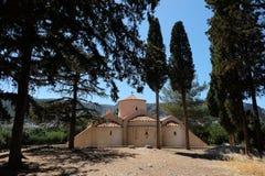 Byzantine Church Panagia Kera in Kritsa Royalty Free Stock Photo
