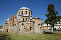 The Byzantine church of Panagia Kosmosoteira. Stock Images