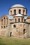 The Byzantine church of Panagia Kosmosoteira. Royalty Free Stock Photos