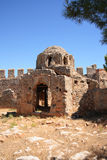Byzantine church ruin in the Alanya fortress Royalty Free Stock Images